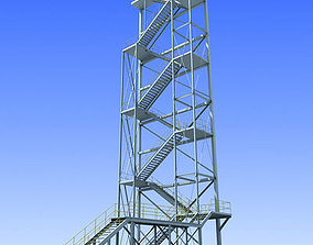 Industrial Tower 2 3D