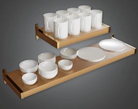 ARV2 - Modern Shelf - PBR Game Ready 3D model