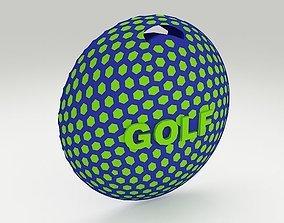 Golf Bag Tag 2 3D printable model