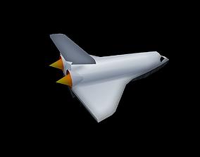 3D asset Space Shuttle