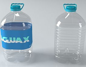 5L plastic bottle 3D model