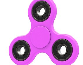 Violet seam spinner 3D