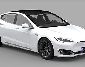 3D Tesla Model S 2020