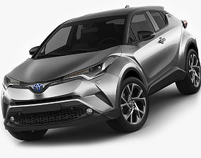 3D model Toyota C-HR 2017