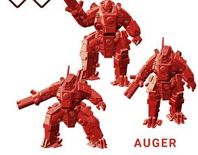 3D print model Auger Warsuit Team