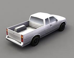 3D asset Pickup Truck Game