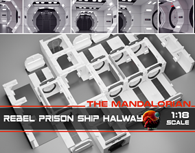 The Mandalorian - Rebel Prison Ship 3D printable model 3