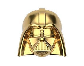 Star Wars Darth Vader ring 5 SIZES 3D print model