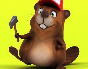 Fun beaver 3D
