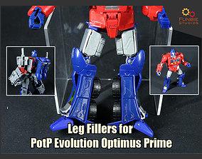 Leg Fillers for Transformers PotP 3D print model 2
