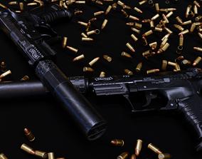 3D model P22 Gun - Asset