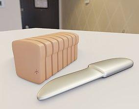 3D print model Slicing toys - Bread Fish Pear