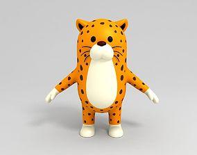 Leopard Character 3D leo