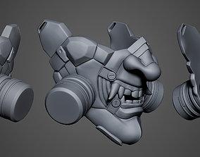Cyberpunk ONI Mask for 3d print