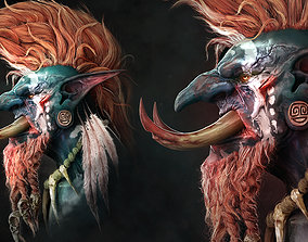 3D printable model World of Warcraft sculpture