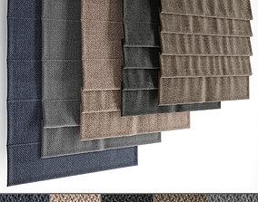 3D Roman blinds set 23