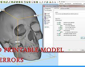 Anatomy Skull 3D printable model