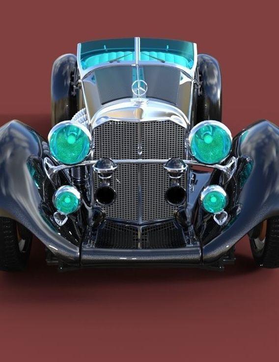 mercedes benz ss roadster 1930