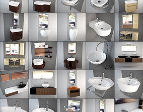 Washbasin collection - Italian design 3D