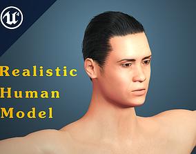 Realistic Human Model 3D