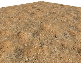 Arid desert terrain seamless 2 PBR 3D