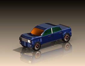 Car 3D model seahorse