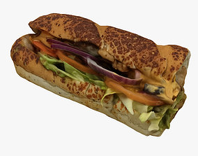 3D Subway Sandwich
