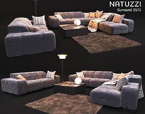 3D model Sofa NATUZZI Surround 2571