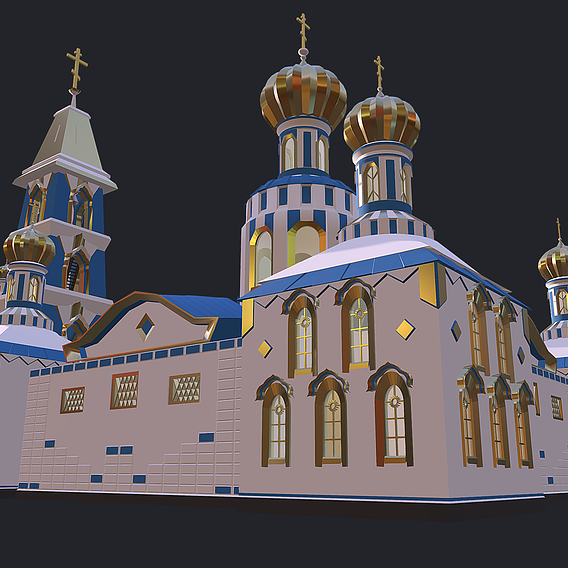 Russian Christian Temple - Church