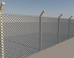 Low Poly Wire Mesh 3D asset