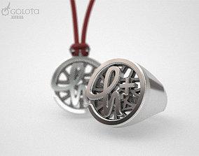Transhumanism Ring 8s 3D print model
