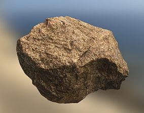 3D asset Granite stone