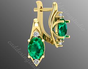 earrings op3 3D print model