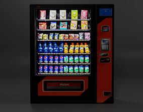Low Poly Vending Machine 3D asset low-poly
