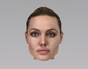 3D Angelina Jolie acting