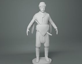 3D printable model Zeybek 35 cm Sculpture