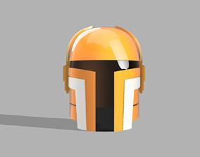 3D printable model SWTOR Charismatic Mandalorian Helmet