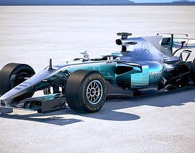 F1 Mercedes W08 2017 3D