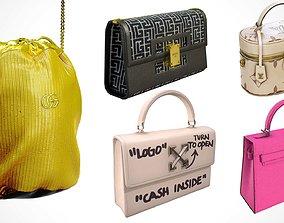 3D PBR Luxury Handbags