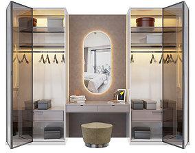 3D model cabinet Wardrobe 4