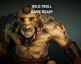 3D model Wild troll