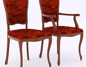 3D model SELVA chairs