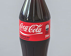 Coca Cola Bottle - 250ml 3D model