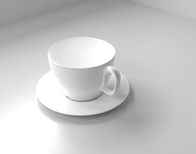 3D Cup and Saucer