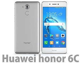 3D model Honor 6C Silver