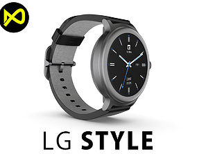LG Watch Style 3D model