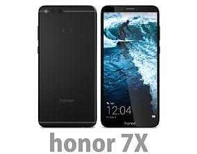 Honor 7X Black 3D model