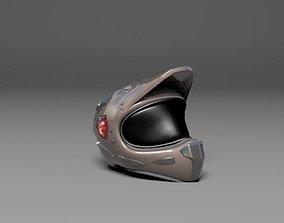3D asset VR / AR ready Helmet msi design gaming