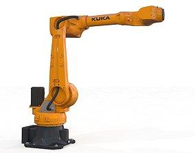 3D model Robotic Arm Kuka Iontec Rigged