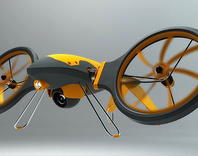 Rescue drone 3D printable model